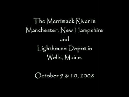 The Merrimack River and Lighthouse Depot