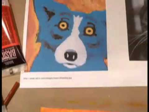 Art Every Day in August - Day 5 Acrylic Paints