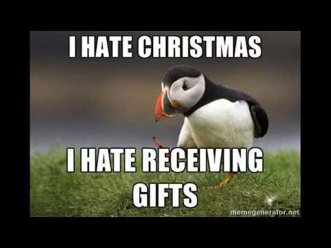 I hate christmas song