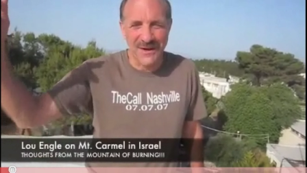 """Missionaries  Lou Engle and Sean Feucht call for """"Fire"""" from Mt. Carmel (2008)"""