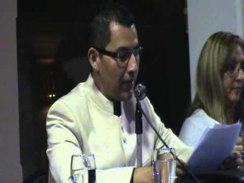 Discurso del escritor Carlos Díaz Chavarría