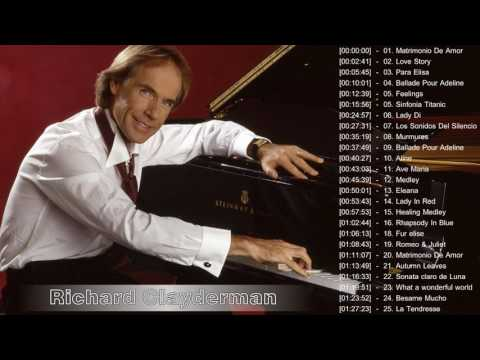 Richard Clayderman Greatest Hits 2017 - Richard Clayderman Playlist