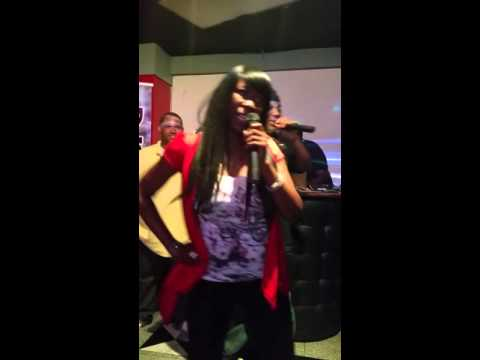 Punkinfoot and DJ Butter Rock performing Exotic at MTV Lounge in Atlanta, Ga