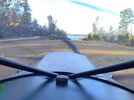 Take-off in the turbine-powered STOL CH 701