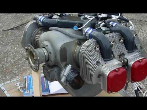 The ULPower aircraft engine at the Sebring Sport Aviation Expo 2010