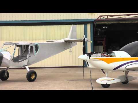UL Power engine installation on the STOL CH 750