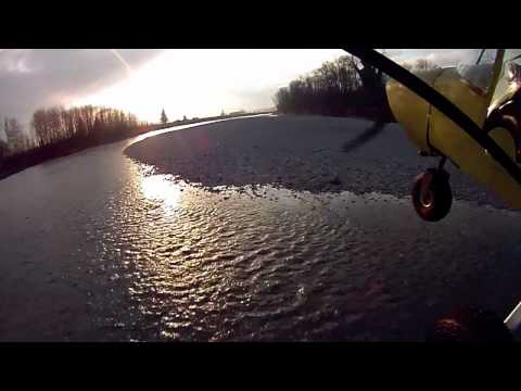 First Gravel Bar Landing in the CH701