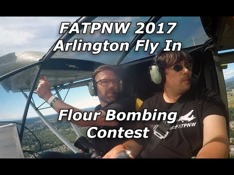 Arlington Fly In Flour Bombing - 2017