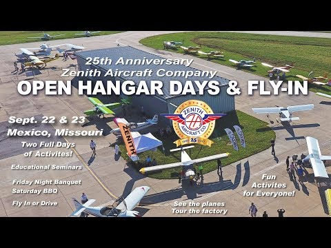 Zenith Aircraft Open Hangar Days & Fly-In