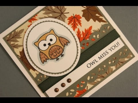 Owl Miss you Sun Kissed Autumn Card Project