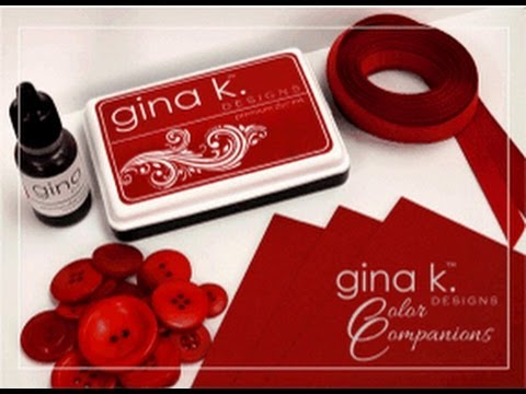 A Message from Gina K  about our Color Companions Ink Pads