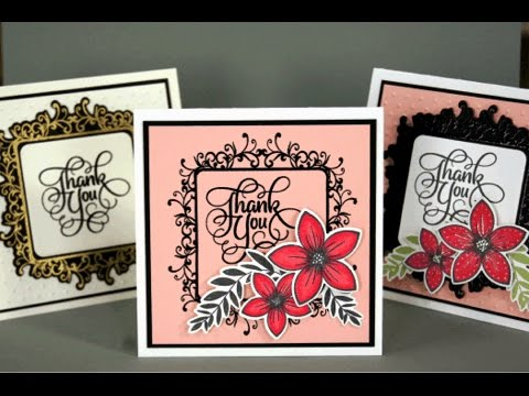 Introducing the Flowers and Frames Stamp TV Kit