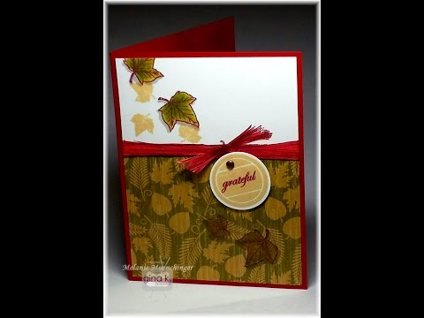 Faux Stamped Raffia from Triple Play Holiday: Tips & Tricks