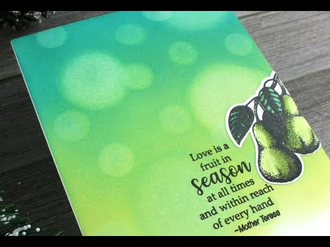 Bokeh Background | Stamp TV Kit from Gina K Designs