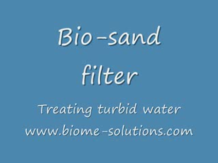 Bio sand filter - Using a 2 litre PET bottle (before SODIS)   - YouTube
