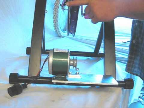 VIDEO1- Free DIY Pedal Power Bicycle Generator Dynamo Plans