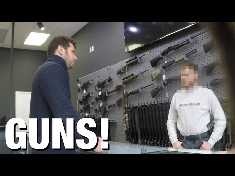 "HIDDEN CAM: Gun Show ""Loophole"" Exposed!"