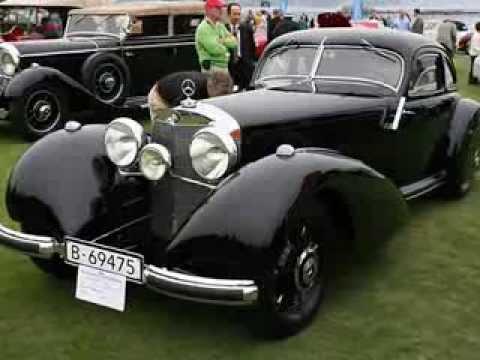 Mercedes Benz 540 K Autobahn Kurier Coupe (1937)