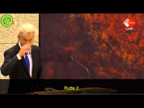 Geert Wilders answers declaration of war from Islam Sept. 4 2014