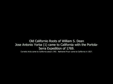 Old Californio Roots