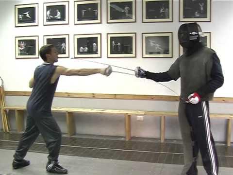 SCHERMA PER NON VEDENTI - Fencing for the blind - Modica