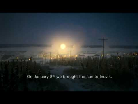 Tropicana Commercial: Arctic Sun - Brighter mornings for brighter days