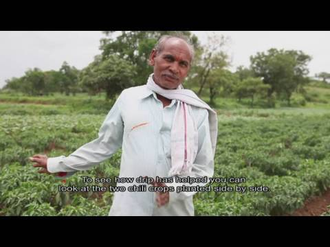A Better Harvest through drip irrigation in India