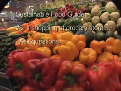 Sustainable Food Guide: cutting your food's embodied energy
