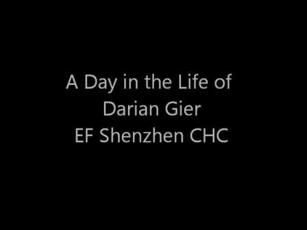 A Day in the Life of Darian Gier in Shenzhen