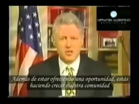 Bill Clinton habla sobre el Network Marketing y la Venta Directa
