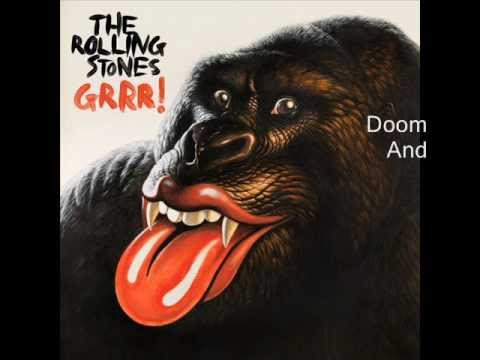 Rolling Stones - Doom And Gloom (lyrics)