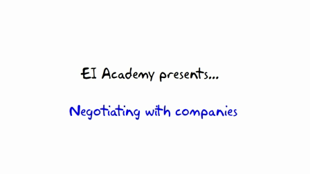 8. All things money --- EI Academy