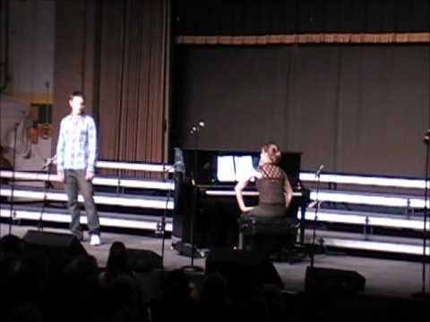 Jack Janowicz singing A Thousand Miles, Colby Show Choir Competition