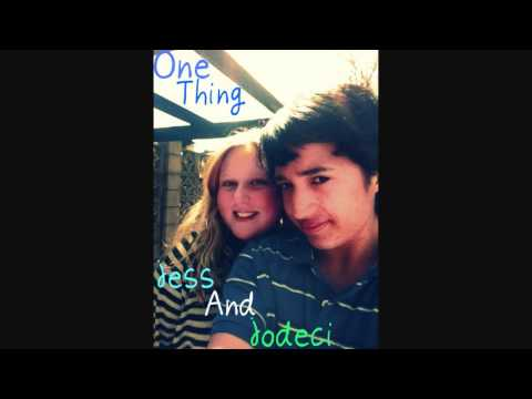 One Thing One Direction-  Jess And Jodeci (COVER)