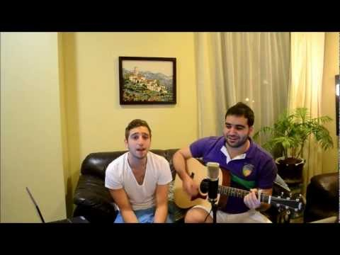 Gnarls Barkley - Crazy (Acoustic Cover By Shadi & Stavros)