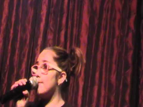 zoe alexa singing valerie by amy winehouse at hamburger marys kc