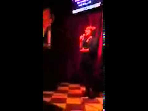 Zoe alexa singing hamburger Mary's 1/4/13