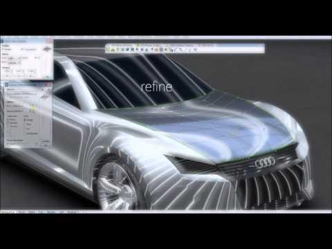 Training Car design with Rhino 2013