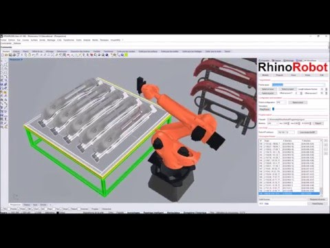 RhinoRobot V2 - Simulation and offline programming for industrial Robots