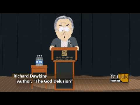 """Richard Dawkins - """"What if you're wrong?"""" South Park"""