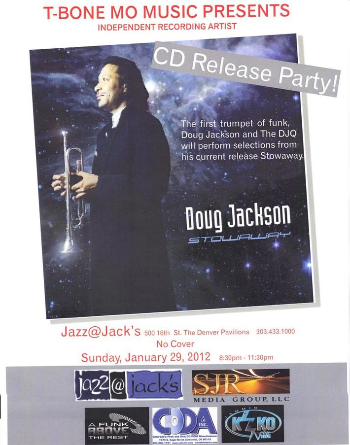 CD Release Party Flyer