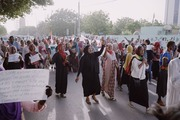 Women of Sudan women protest for equal rights