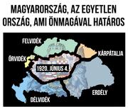 Magyarország.az egyetelen ország ami önmagával határos