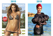 Sports Illustrated Swimsuit Issue 2015 VS 2019