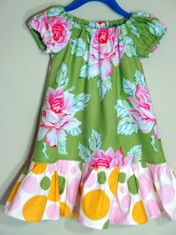 Nicey Jane Peasant Dress