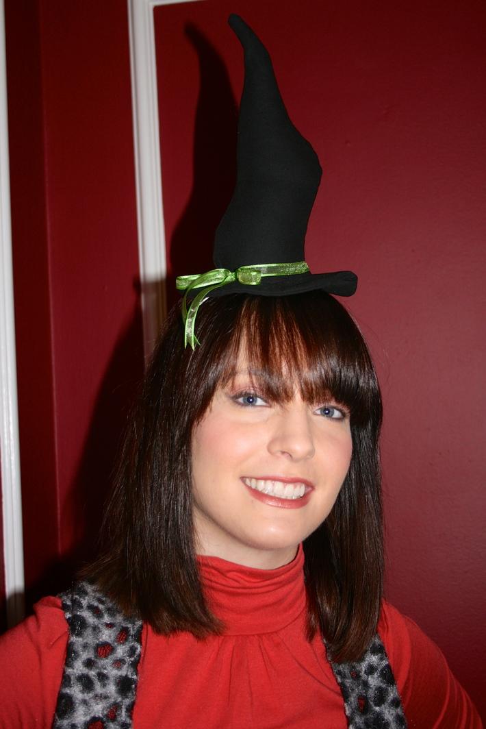 Fascinator Witch Hat & Vest