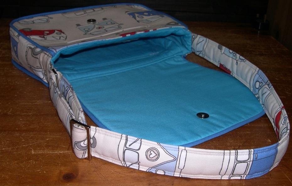Campervan Mirabelle Messenger Bag