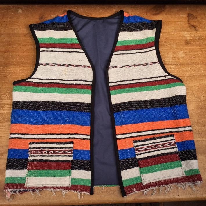 Mexican Blanket Vest V1