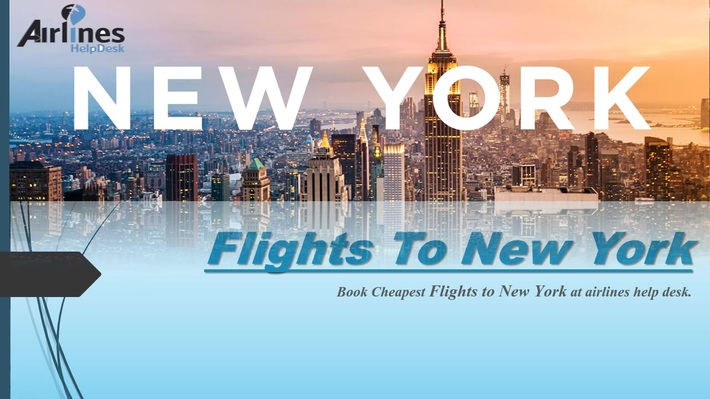 Airlines help desk filght from new york