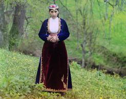 Armenian woman in costume